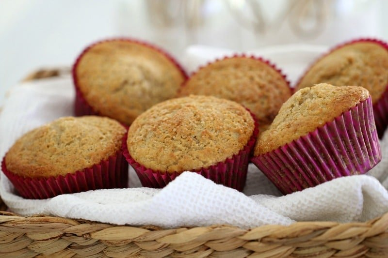 easy banana muffins (apart from the fact that they really are so easy ...
