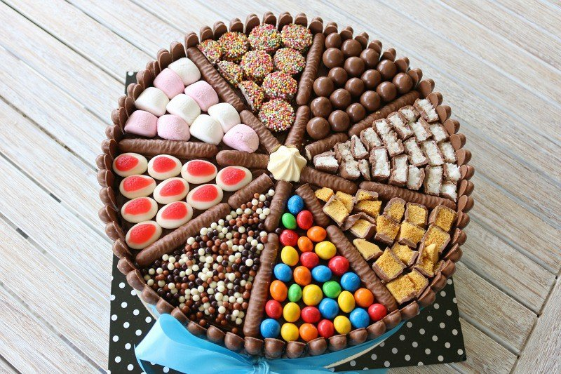 Easy Chocolate Birthday Cake Lollies Chocolates More Bake