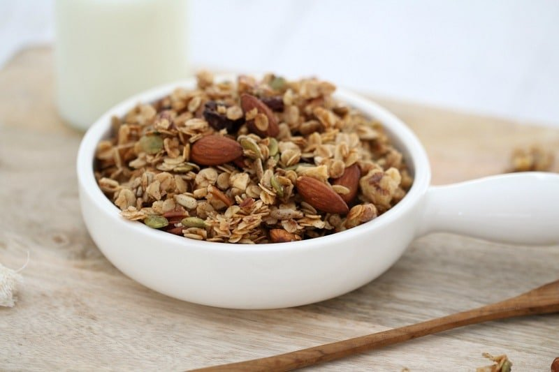 Easy Fruit & Nut Granola