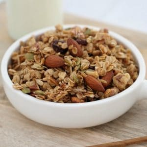 Easy Fruit & Nut Granola