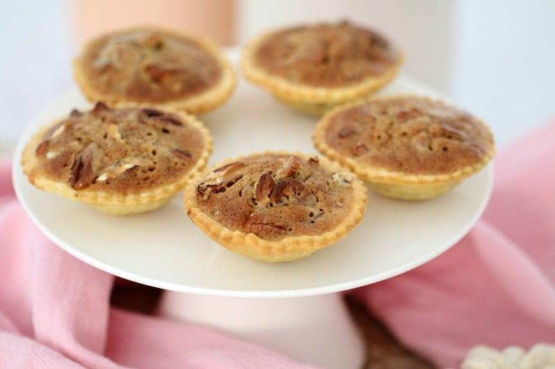 Mini Caramel Pecan Tarts