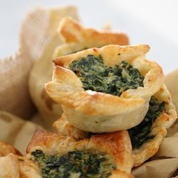 Spinach & Ricotta Tarts | Freezer Friendly