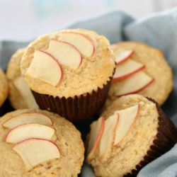 Easy Apple & Cinnamon Muffins