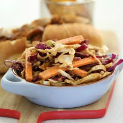 Asian Slaw with Satay Dressing