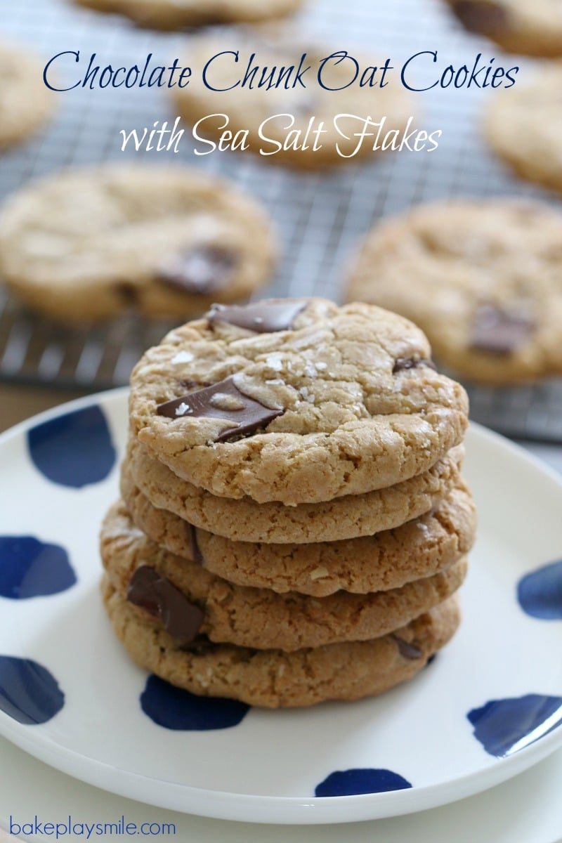 Chocolate Chunk Oat Cookies