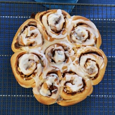 Apple & Cinnamon Scrolls | Freezer Friendly