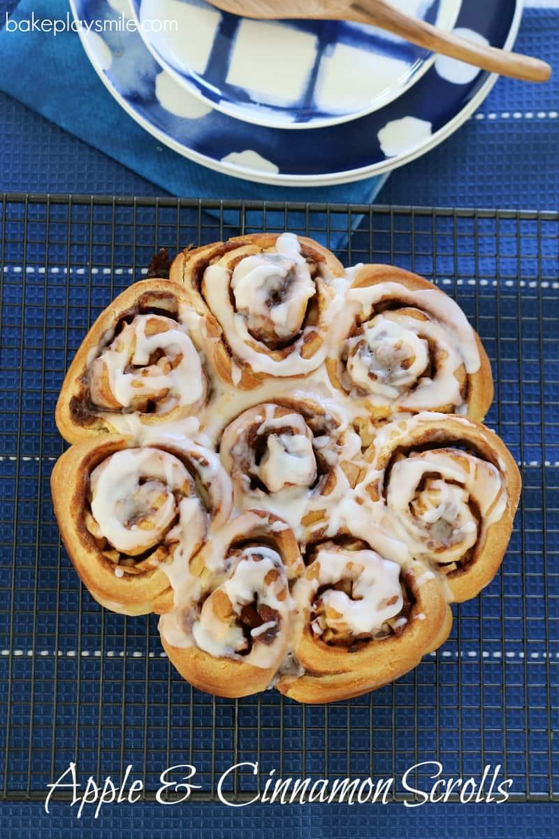 Apple & Cinnamon Scrolls