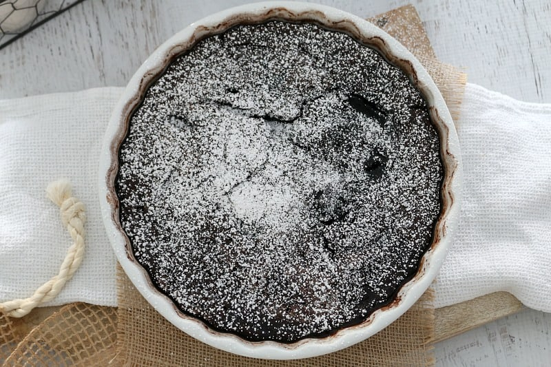 Rich Chocolate Self-Saucing Pudding