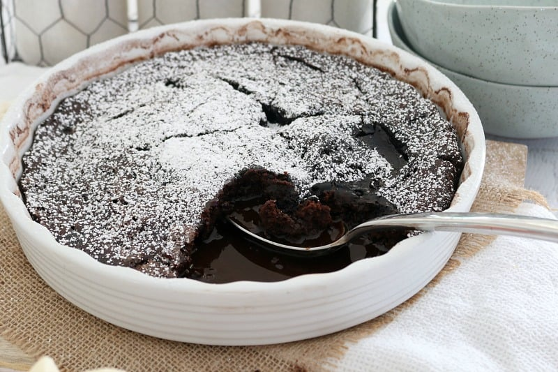 Fudgy & Rich Chocolate Self-Saucing Pudding