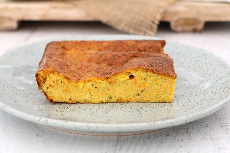 Healthy Carrot & Zucchini Slice