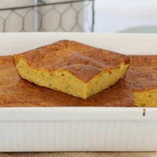 Healthy Carrot & Zucchini Slice
