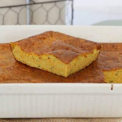 Healthy Carrot & Zucchini Slice | Family-Friendly Meal