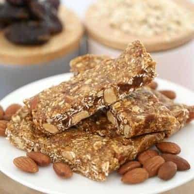 Honey, Date, Oat & Nut Energy Bars