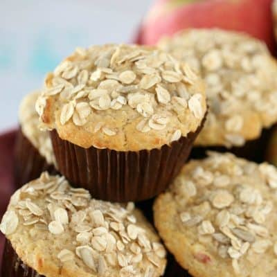 Oat & Apple Muffins | Super Moist
