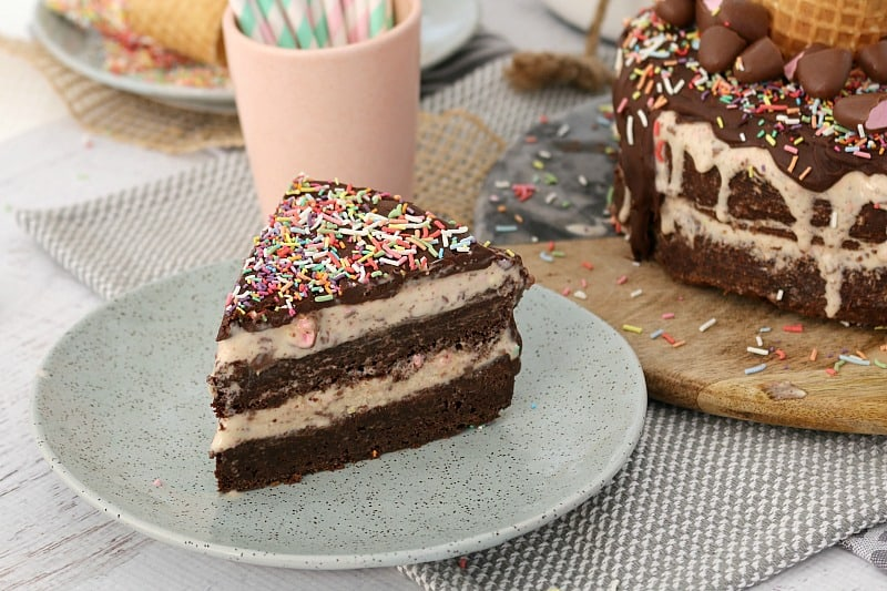 Clinkers Chocolate Brownie Ice-Cream Cake