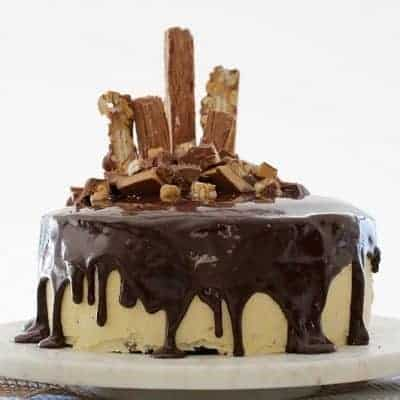 The ULTIMATE Peanut Butter & Fudgy Chocolate Overload Cake
