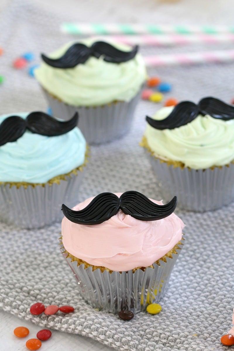 Moustache Cupcakes Movember