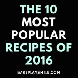 The 10 Most Popular Recipes of 2016