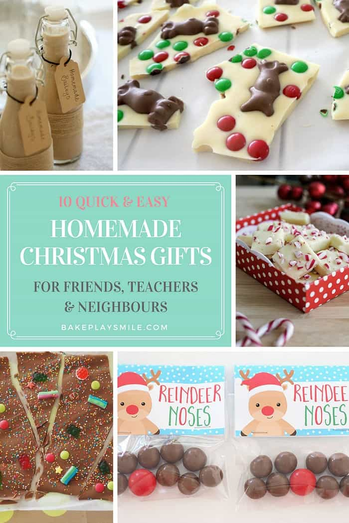 Diy Christmas Gifts For Friends.10 Quick Easy Homemade Christmas Gifts For Teachers