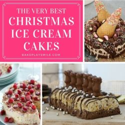 The Very BEST Christmas Ice Cream Cakes