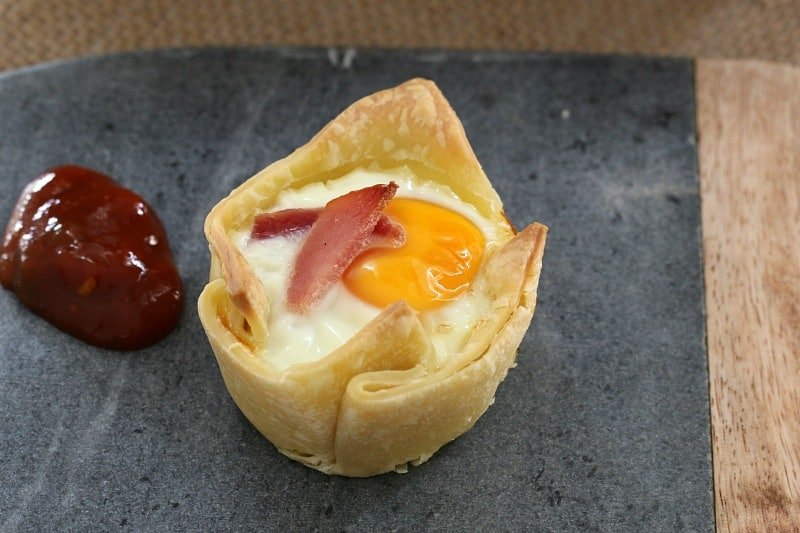 Egg and Bacon Pies