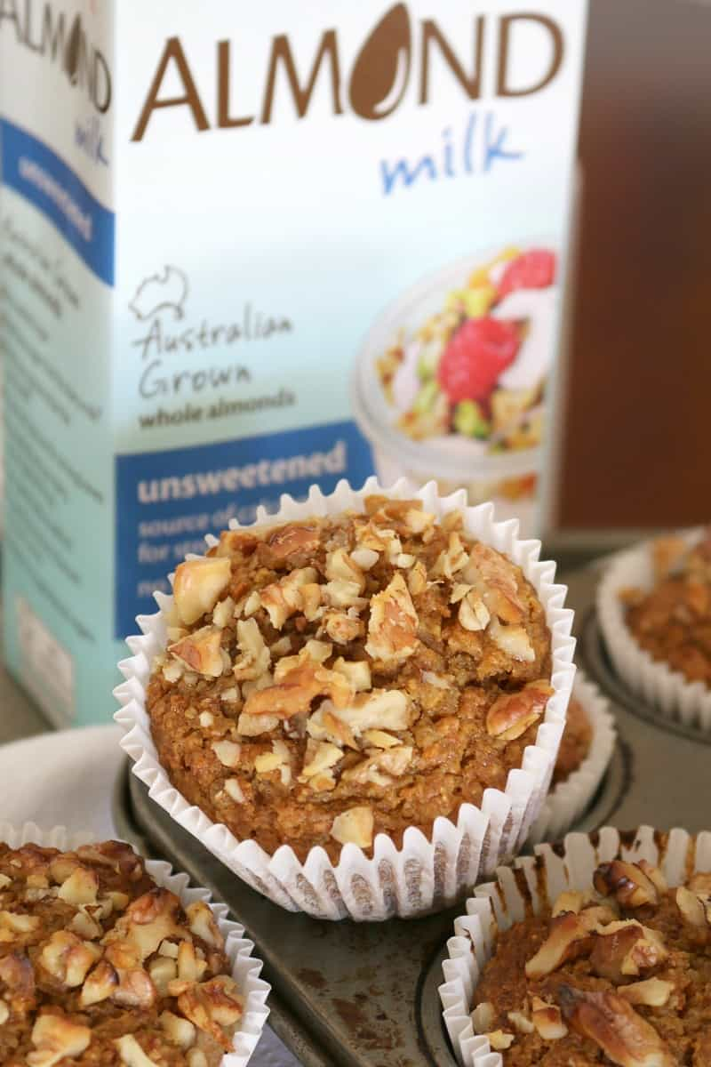 Healthy Carrot Cake Muffins Image