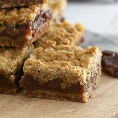 Oat & Date Crumble Slice | Classic Recipe