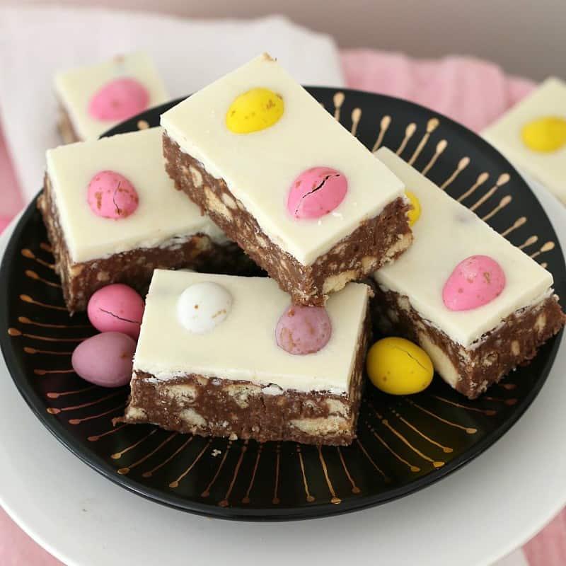 Chocolate Easter Hedgehog Slice