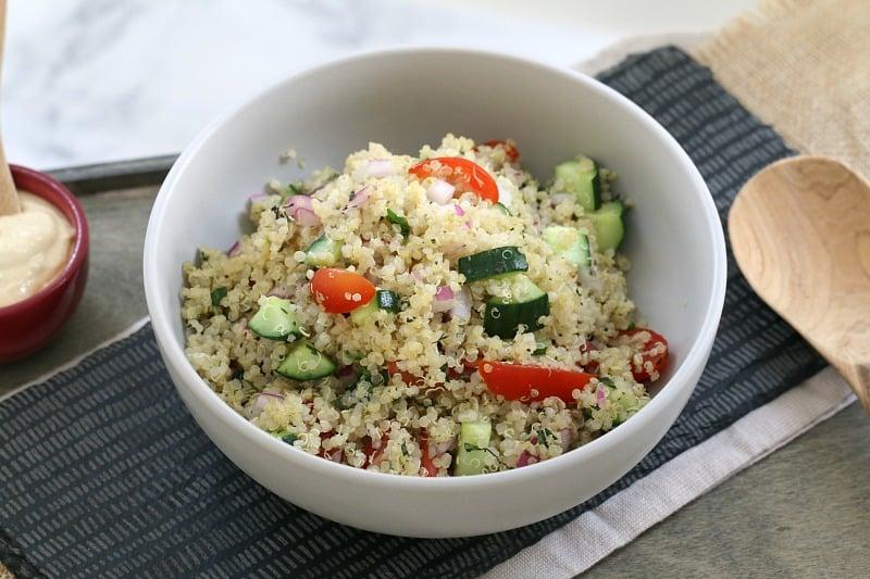 Healthy Quinoa Salad Image