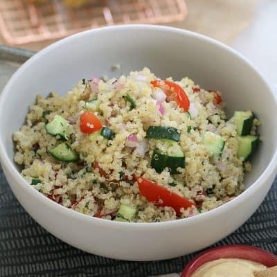 Healthy Quinoa Salad – Fresh, Fast & Delicious
