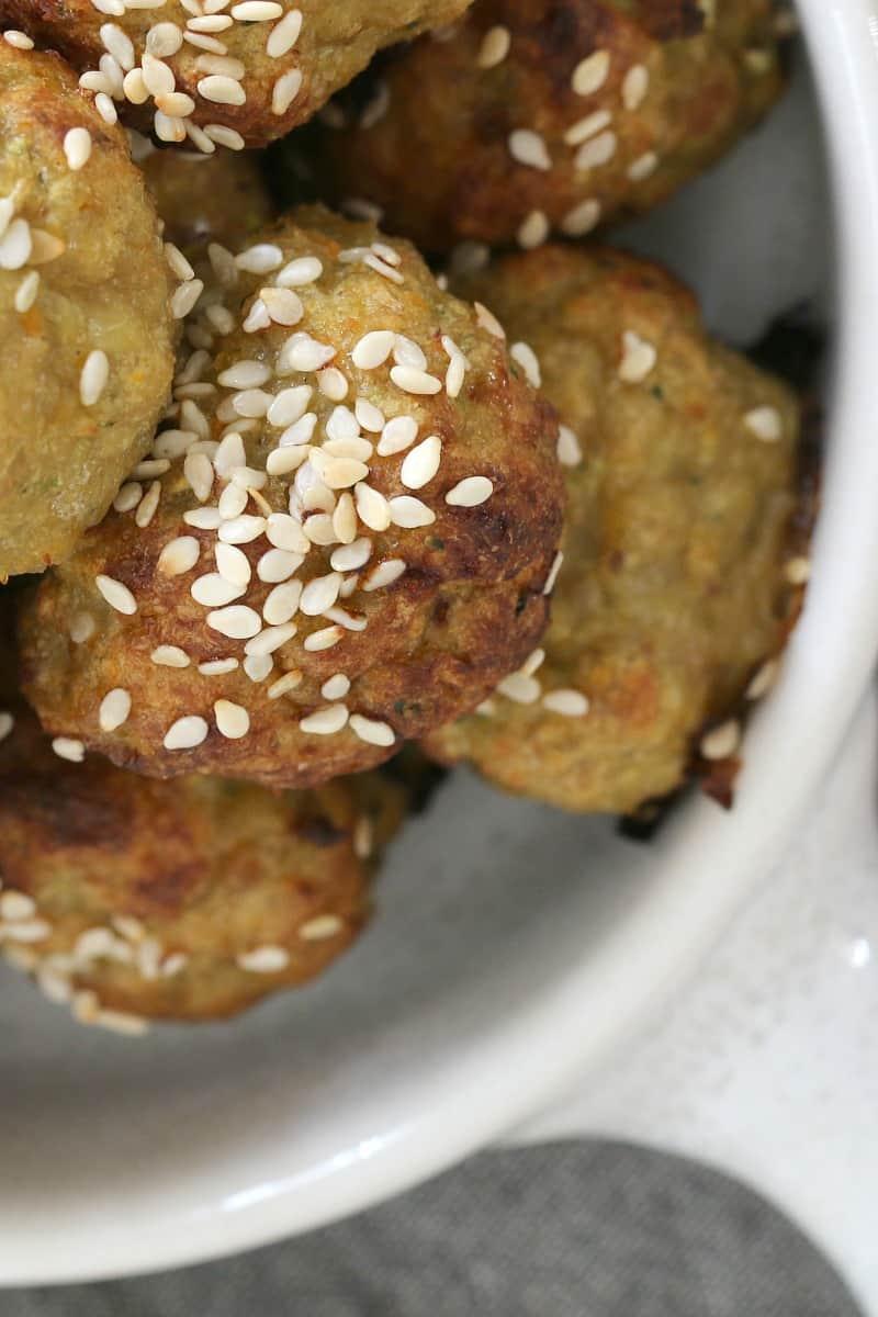 Healthy Vegetable & Turkey Meatballs