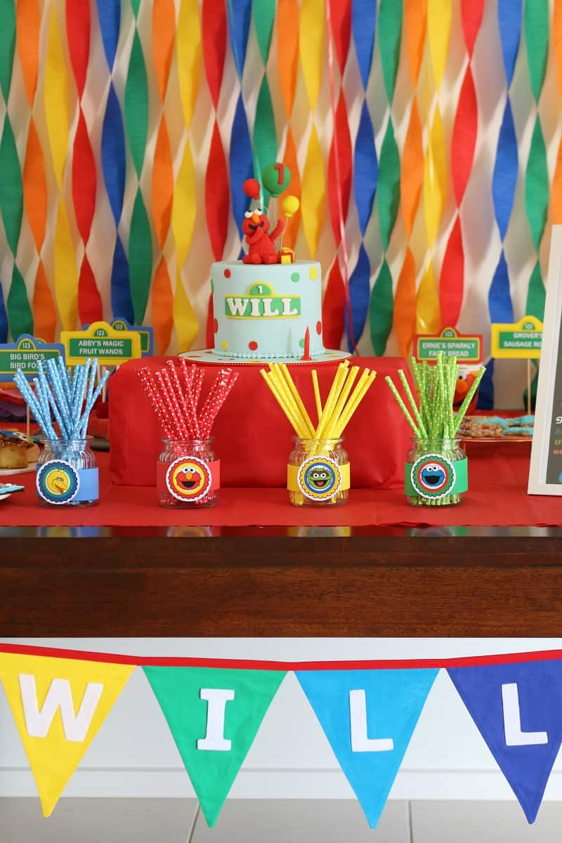 Planning A Sesame Street Party Decorations Party Food