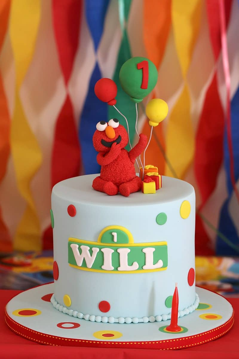 Planning a Sesame Street Party (decorations, party food, cake & more!) image