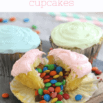 Surprise M&M Cupcakes image