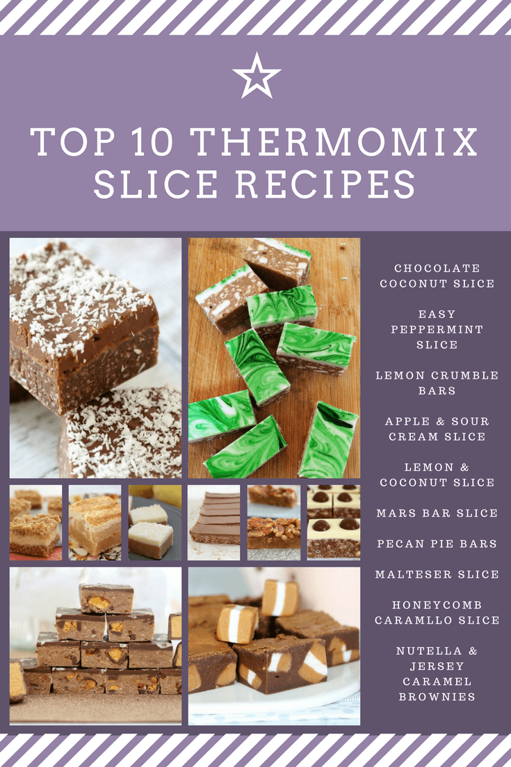 best thermomix slice recipes