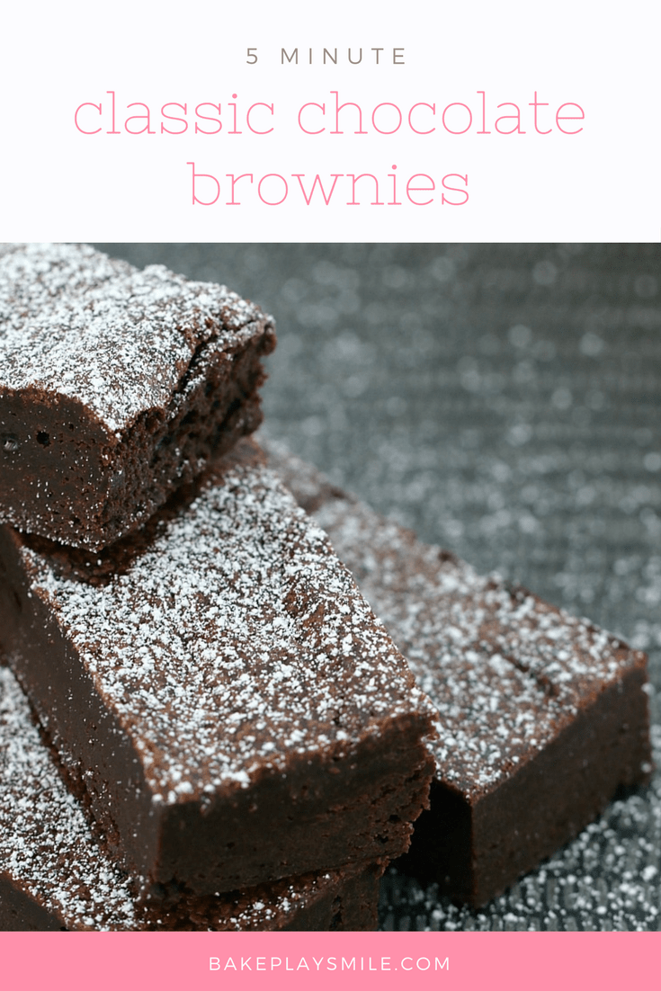 5 Minute Chocolate Brownies