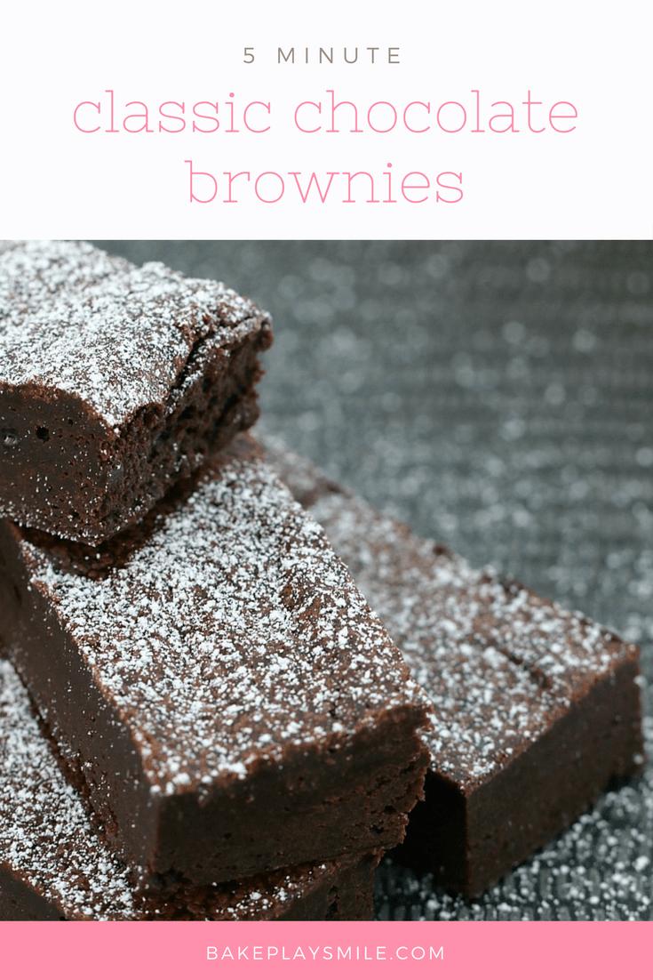 5 Minute Chocolate Brownies