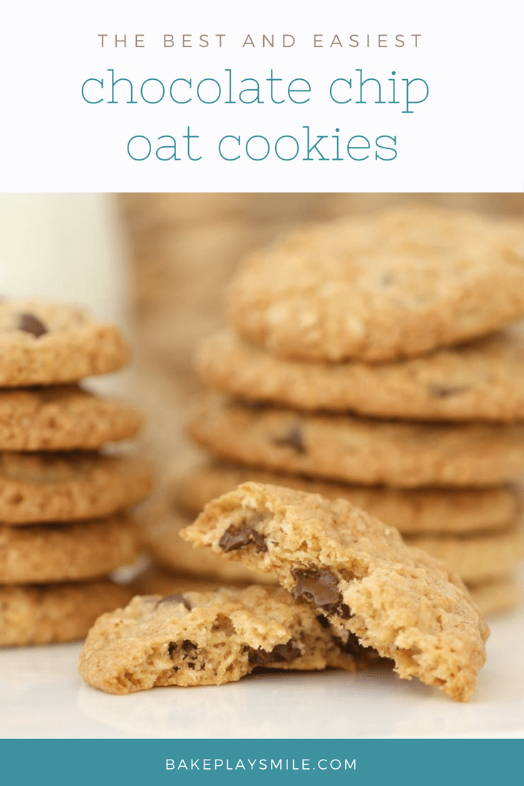 Chocolate Chip Oat Cookies Bake Play Smile