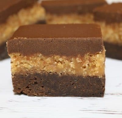 Salted Caramel Crunch Brownie