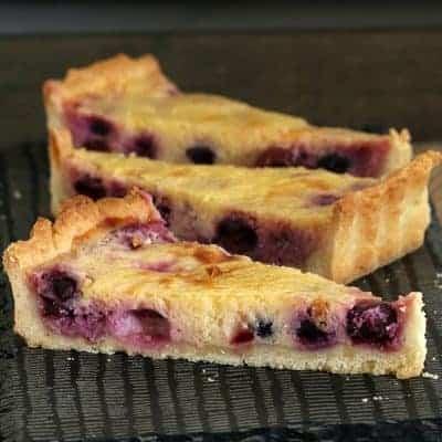 Lemon Blueberry Tart   The Perfect Dessert