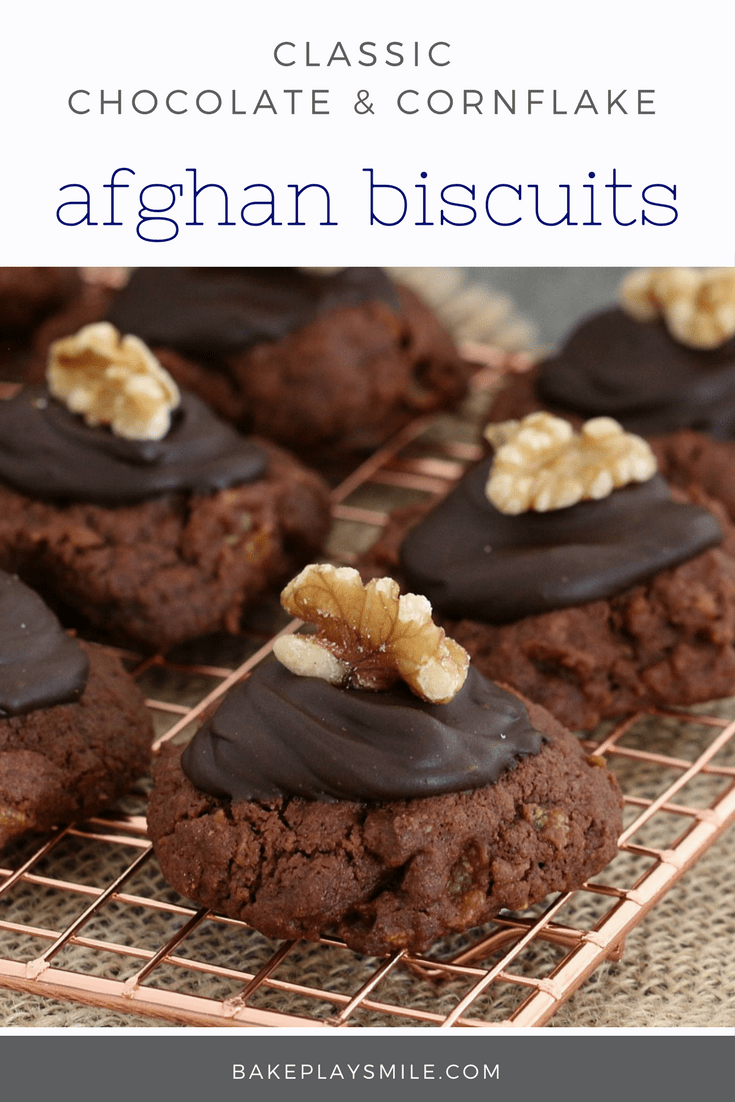 Afghans Chocolate Cornflake Biscuits