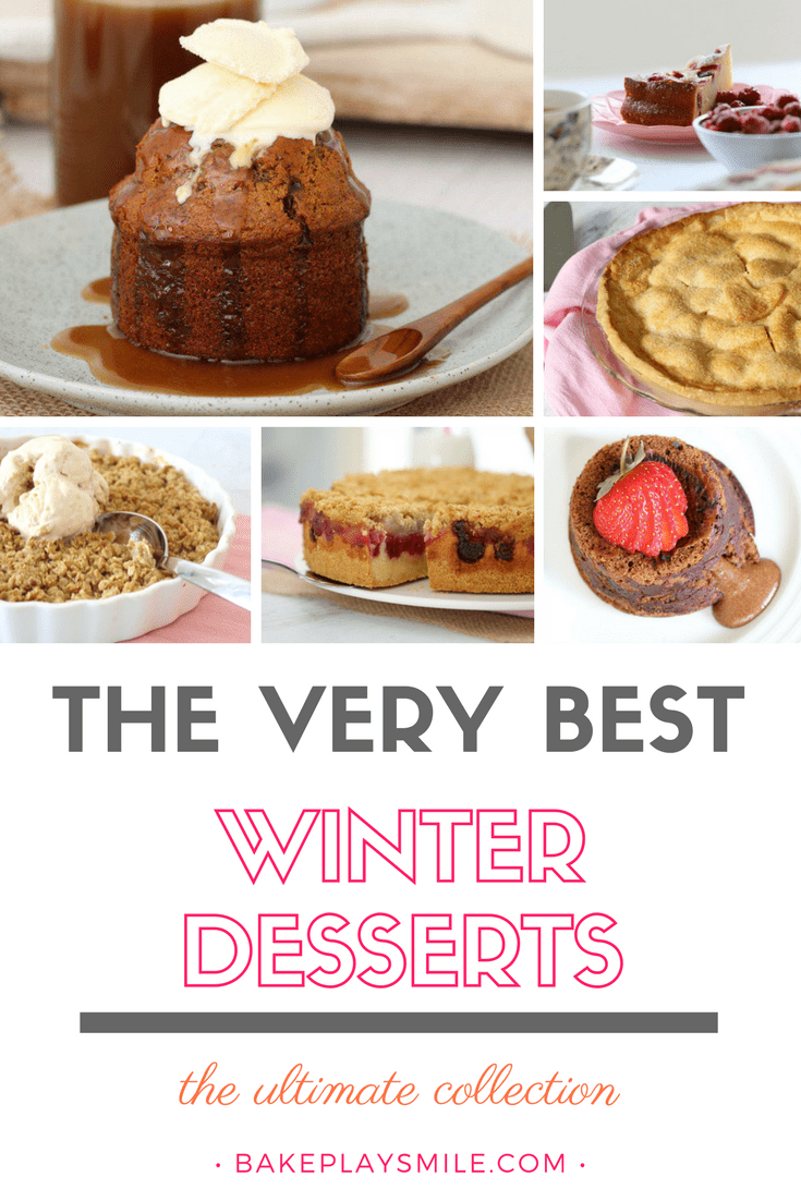 Winter dessert recipes