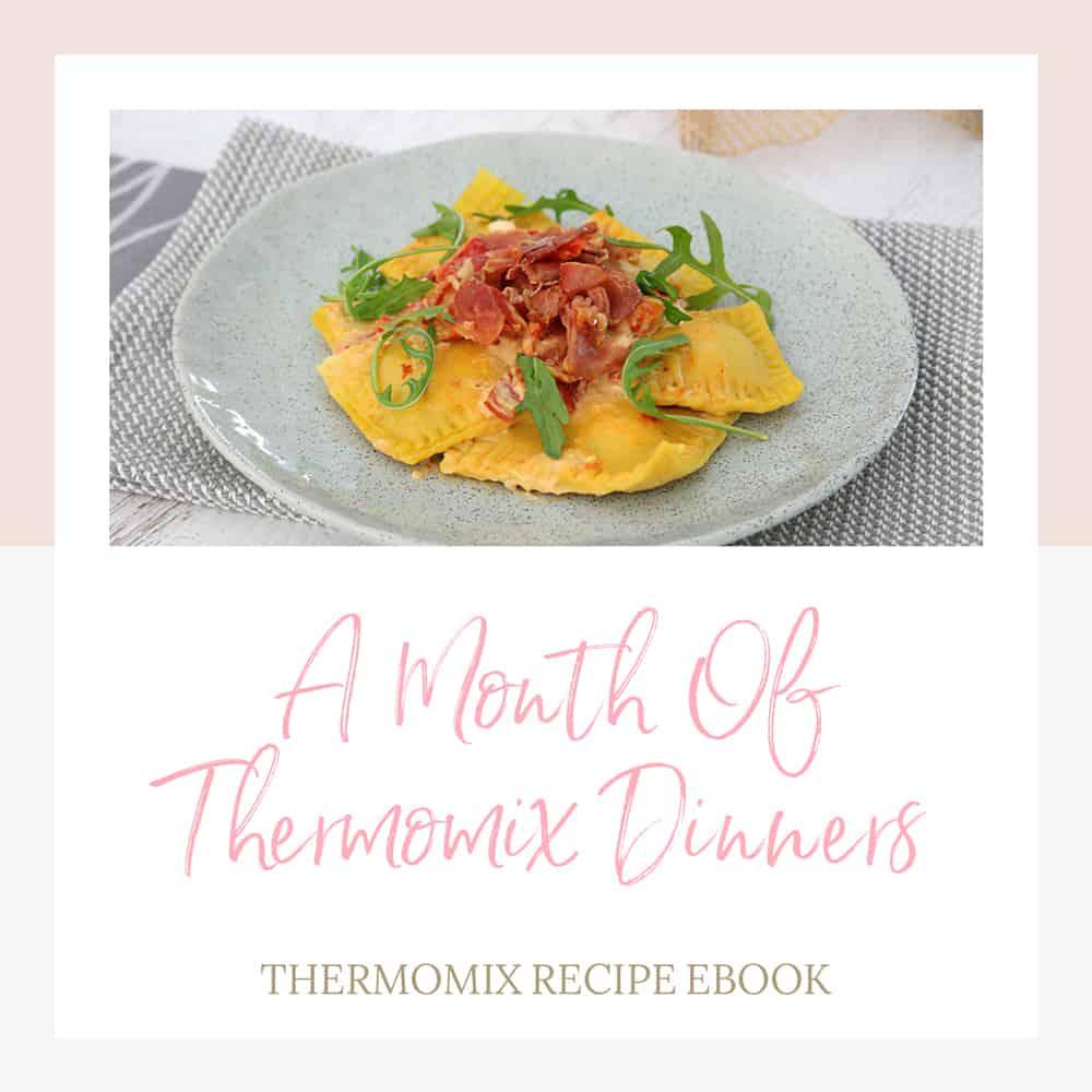 pumpkin lasagne thermomix