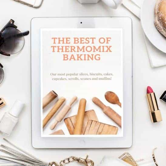 A Thermomix recipe book - the Best of Thermomix Baking