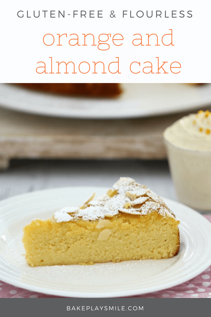 Gluten Free Orange Cake Thermomix
