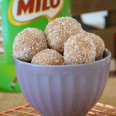Easy Milo Balls | 4 Ingredients