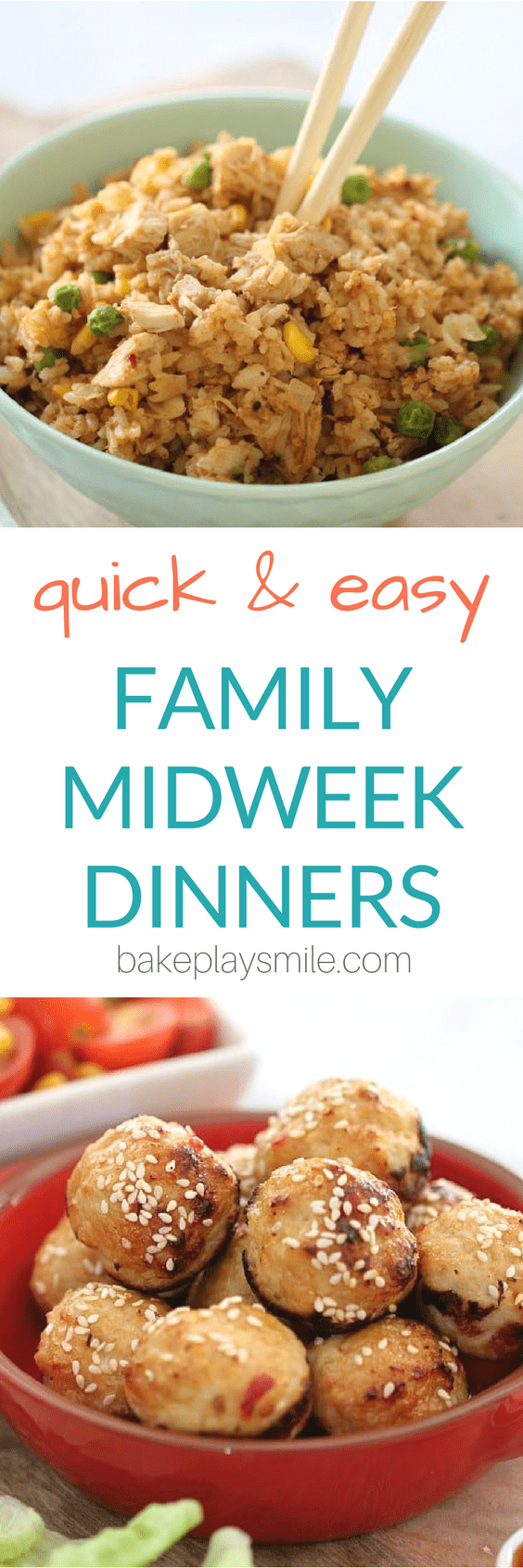 The most popular quick and easy family dinners... with everything from pulled pork burgers to 20 minute pastas, lasagne to meatballs, fried rice to pies... there really is something to suit everyone!