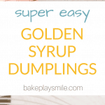 Homemade golden syrup dumplings are so simple to make...  you won't be able to resist these fluffy dumplings smothered in sweet syrup and served with ice-cream or custard.