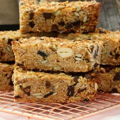 The Very Best Homemade Muesli Bars