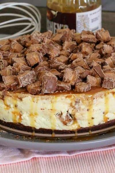 The Ultimate No-Bake Mars Bar Cheesecake